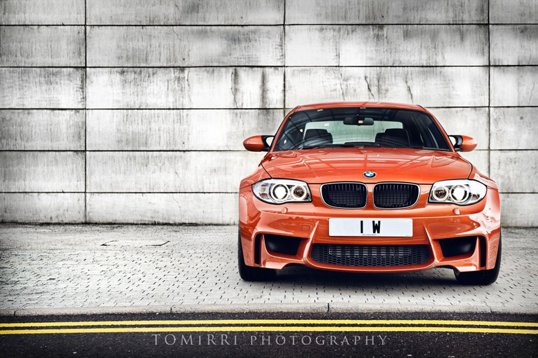 Valencia Orange BMW 1M Photoshoot