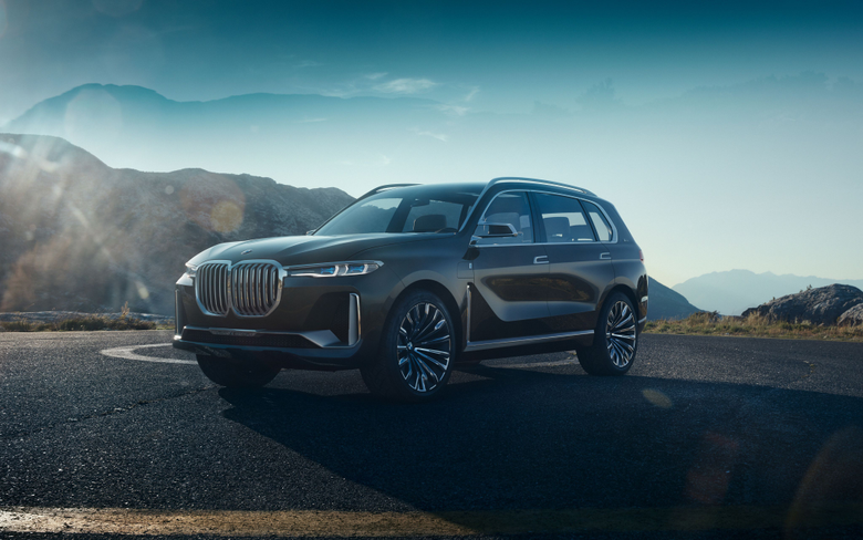 BMW Concept X7 iPerformance 4K Wallpapers