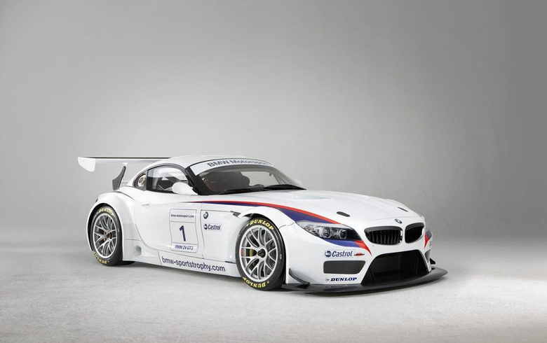 BMW Z4 GT3 COUPE wallpapers