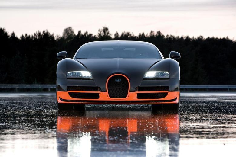Bugatti Veyron Supersport Wallpapers