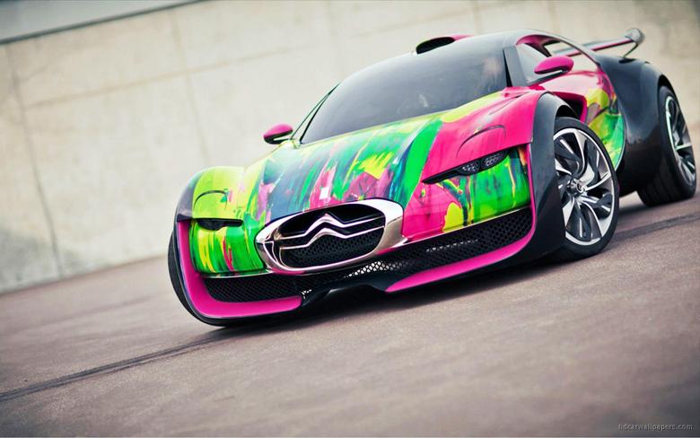 Citroen Survolt Concept Car Wallpapers
