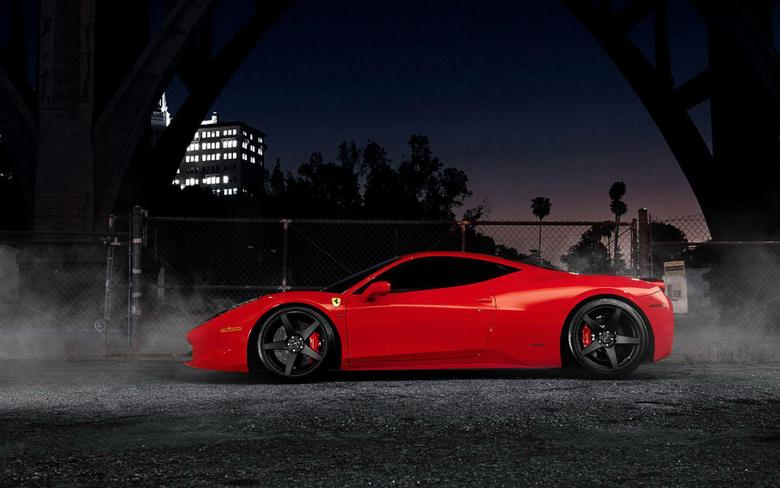 Forgestar Ferrari 458 Italia Wallpapers