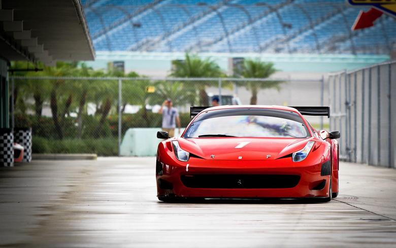 Daily Wallpaper Ferrari 458 Italia GT3