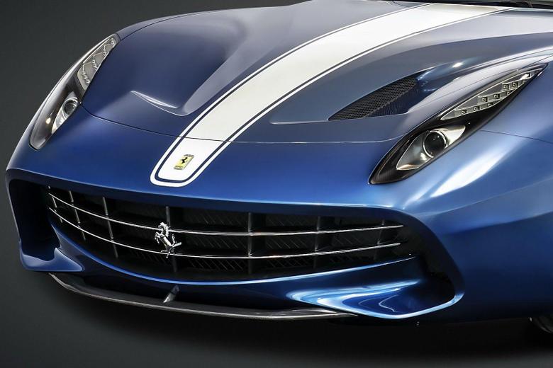 New Ferrari F60 America is a 2 5 Million Roofless F12berlinetta for