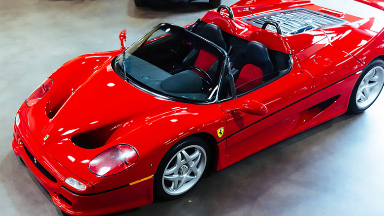 Ferrari F50 prototype with an interesting history is up for grabs
