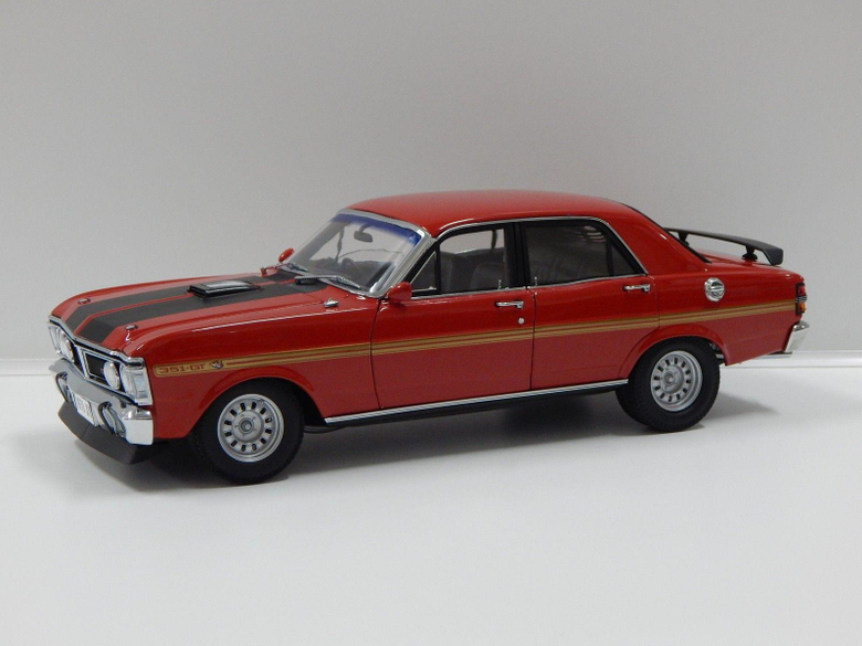 Classic Carlectables 1 18 Retro Ford XY Falcon Wide Boots