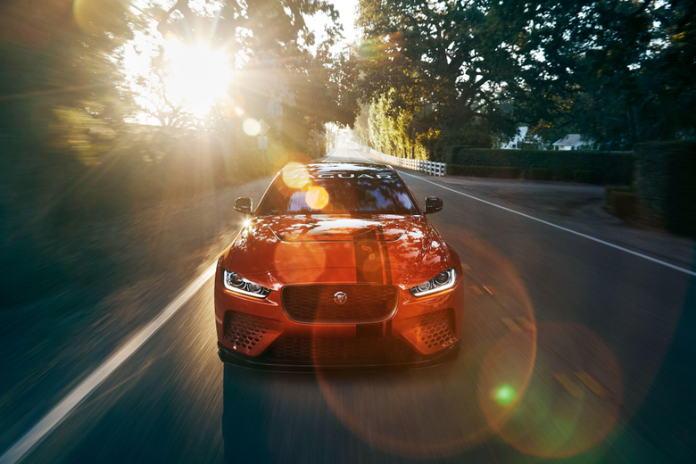 Wallpapers Jaguar XE SV Project 8 2018 Powerful Luxurious 4K