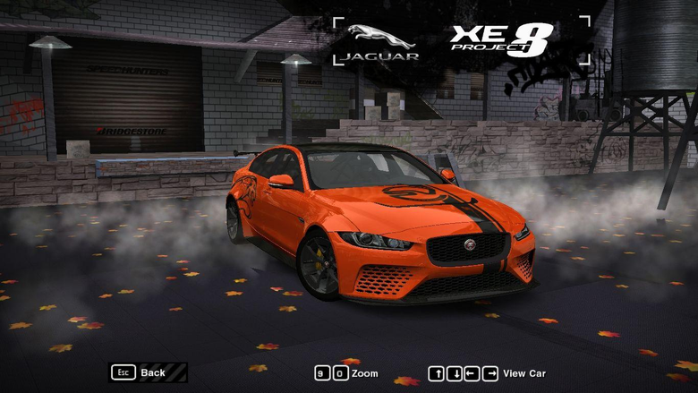 Need For Speed Most Wanted Jaguar XE SV Project 8