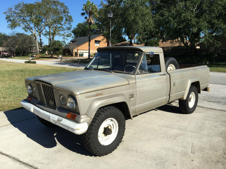 Pickup Truck Barn Find