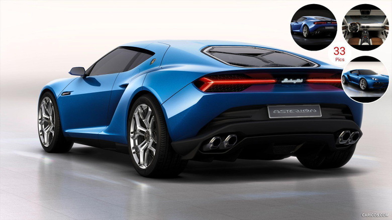 2014 Lamborghini Asterion LPI 910