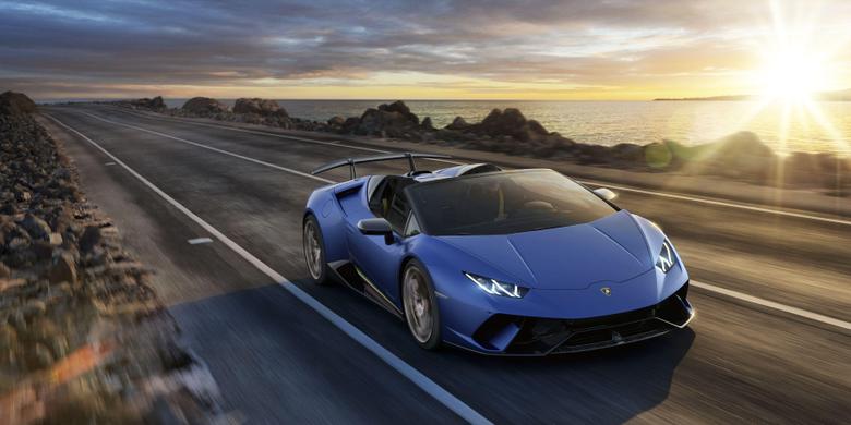 Wallpapers Lamborghini Huracan Performante Spyder Geneva Motor Show