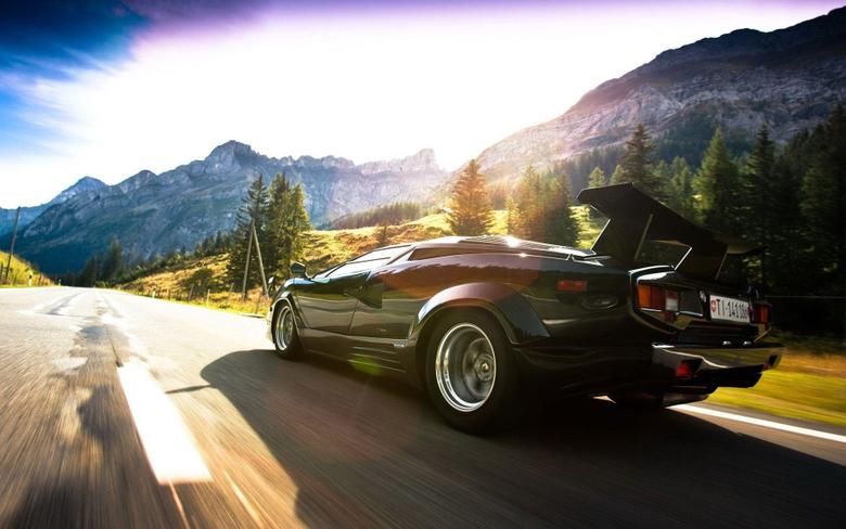 Daily Wallpaper Lamborghini Countach