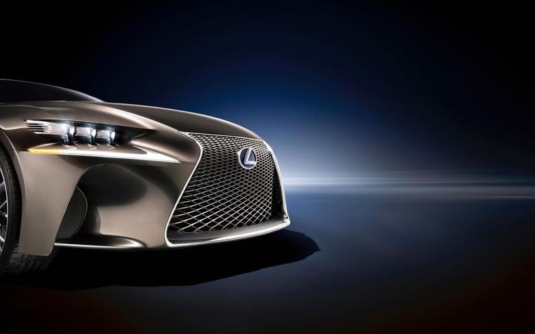 Lexus Logo Emblem Front bumper wallpapers