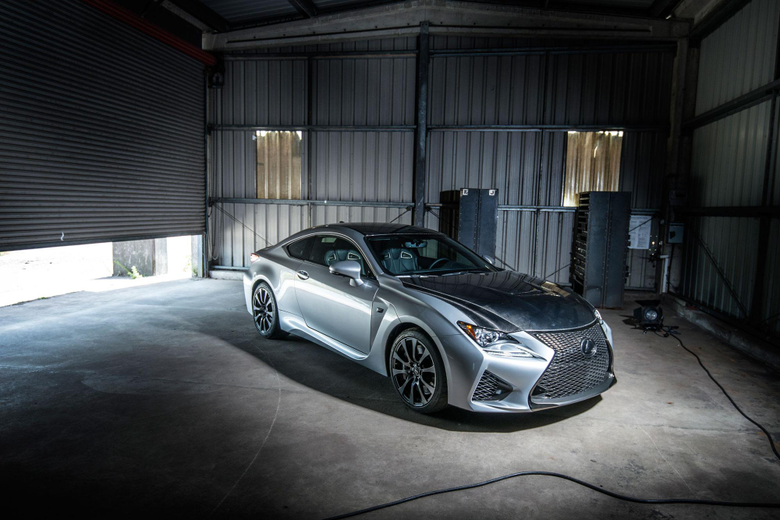 UK first appearance for Lexus RC F at the Goodwood Festival of Speed