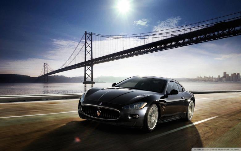 Maserati GranTurismo 4K HD Desktop Wallpapers for 4K Ultra HD TV