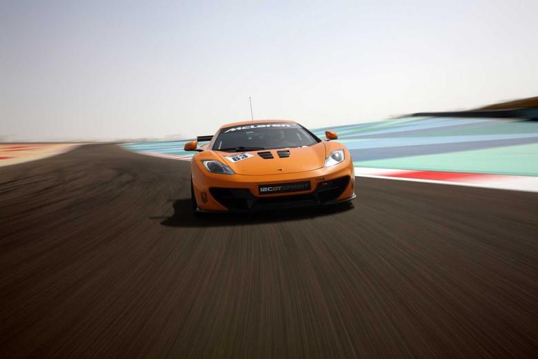 McLaren 12C GT Sprint Track