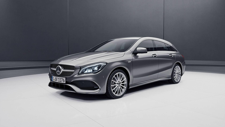Mercedes CLA Shooting Brake Night Edition Is All About Style