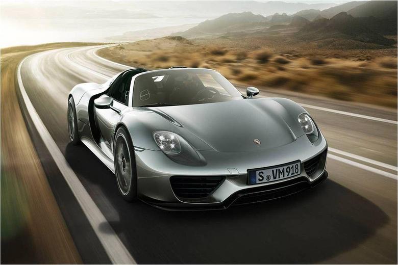Porsche 918 Spyder Maximum Speed 340 km h