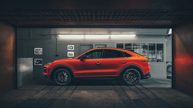 Porsche Cayenne Coupe revealed the acceptable alternative to a BMW X6