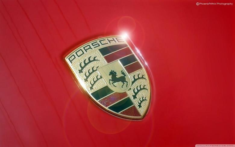 Porsche Logo HD desktop wallpapers Widescreen