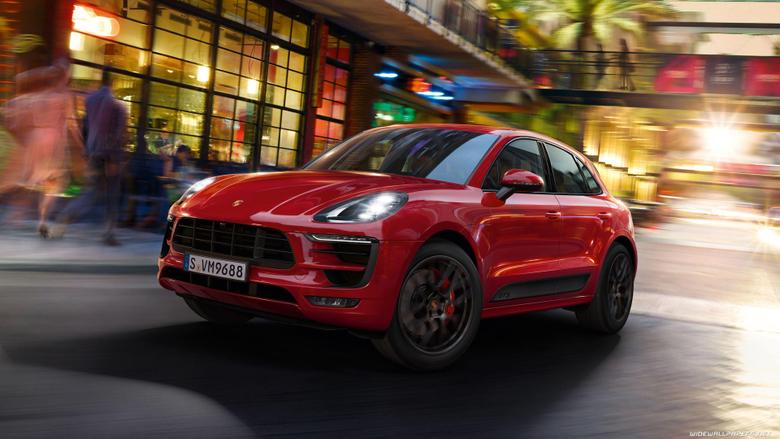 Porsche Macan cars desktop wallpapers 4K Ultra HD