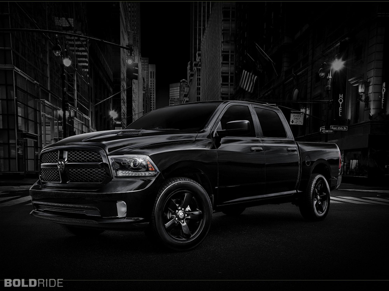 Black Dodge Ram 1500 Full HD Wallpapers and Backgrounds