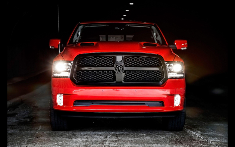 Wallpapers Ram 1500 2017 Cars Night Edition Special Edition HD