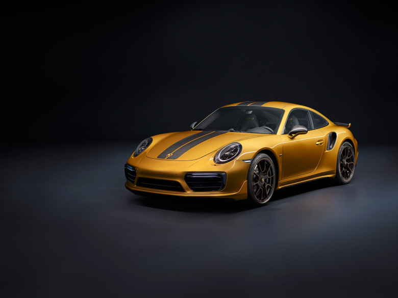 Wallpapers Porsche 911 Turbo S Exclusive Series Limited edition 4K