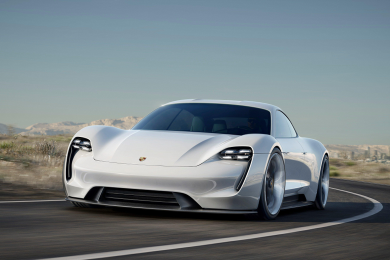 Porsche releases first teaser image of new Taycan