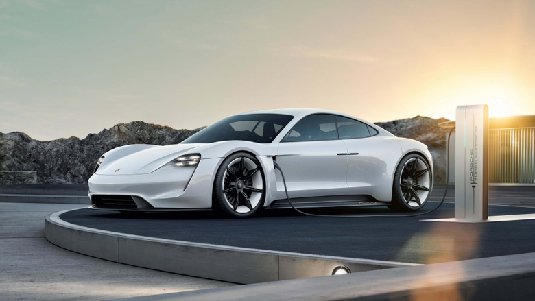 Porsche Taycan Electric UHD 4K Wallpapers