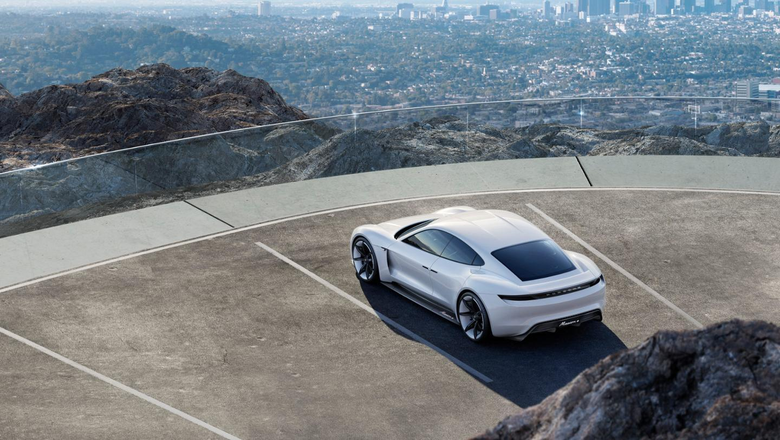 Mission E becomes Taycan