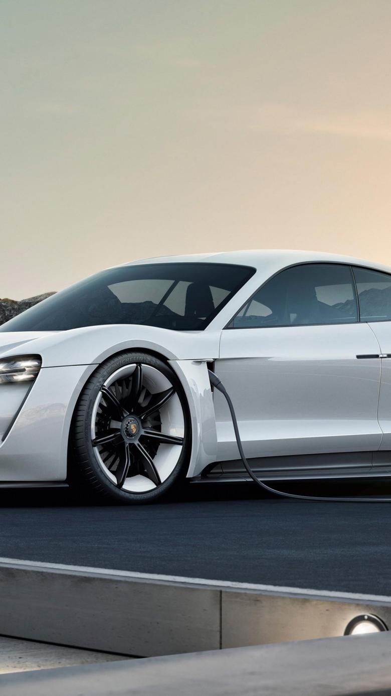 Wallpapers Porsche Taycan Electric Car supercar 2020 Cars 4K