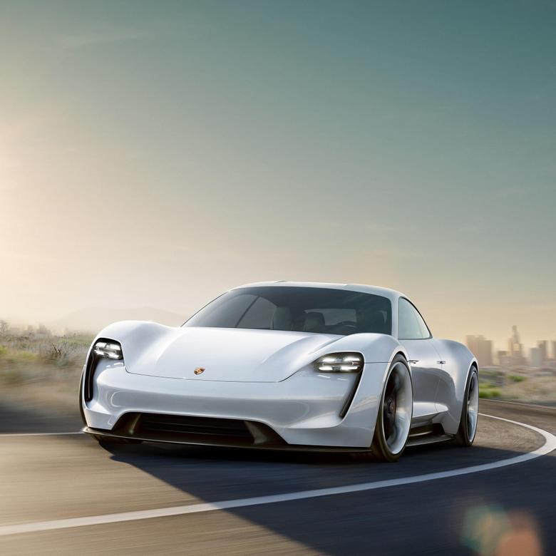 Tribute to tomorrow Porsche Concept Study Mission E