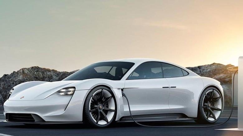 Porsche Taycan Electric Car Takes Aim at Tesla