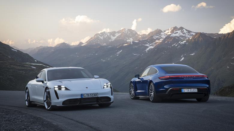 2020 Porsche Taycan Wallpapers