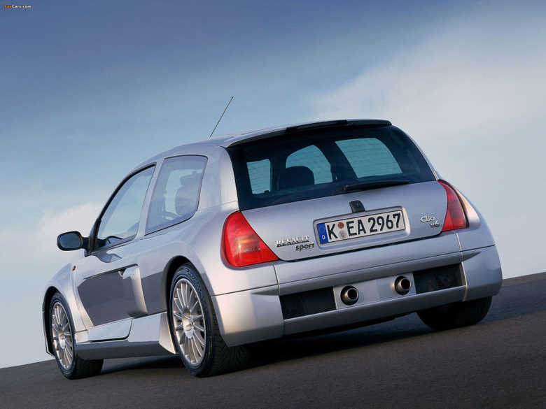Clio V6 Sport 1999 2001 wallpapers