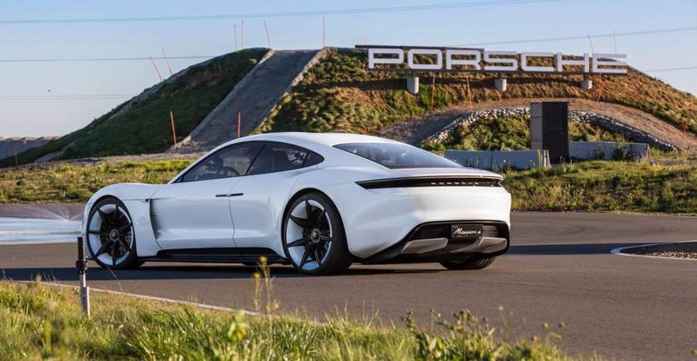Porsche Taycan the first full electric Porsche