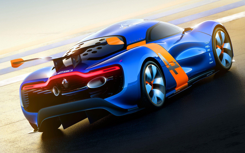 Renault Alpine A110 50 Concept 2 Wallpapers