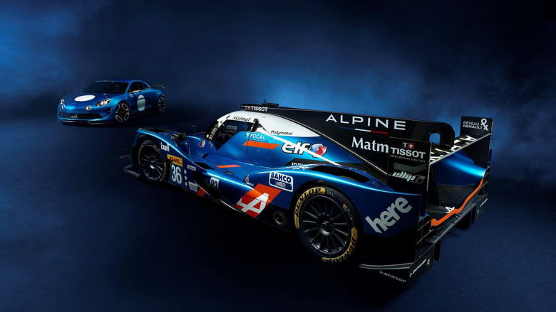 Renault Alpine A460 Race Car 2 Wallpapers