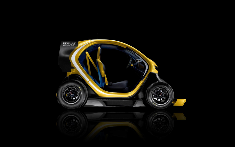 Daily Wallpaper Renault Twizy Sport F1 Exclusive