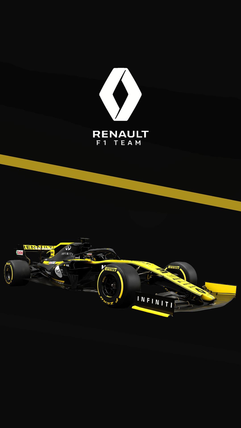 Renault 2019 phone wallpapers I made formula1