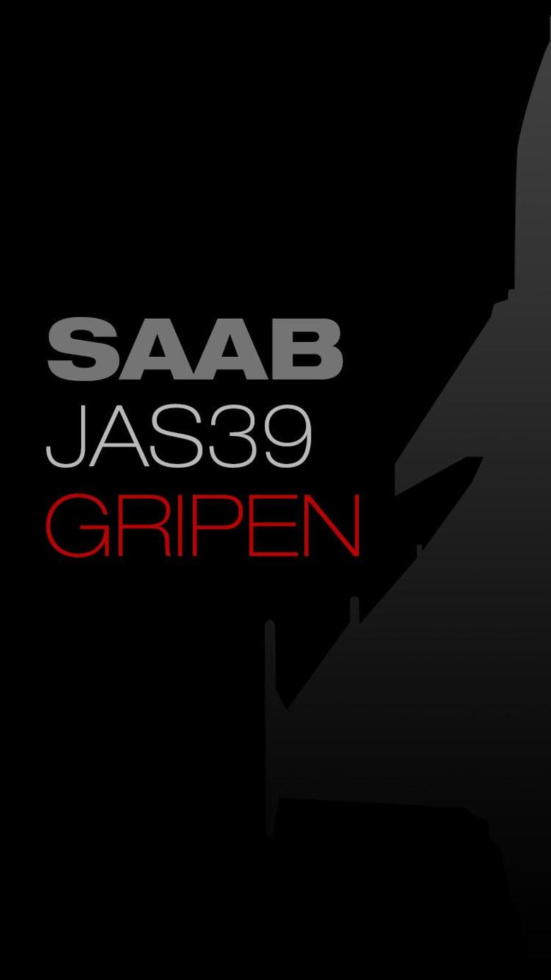 SAAB JAS 39 GRIPEN phone wallpapers