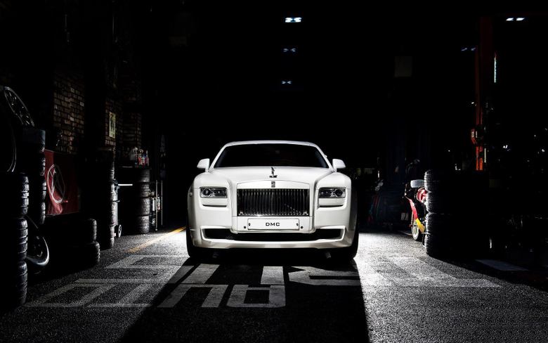 DMC Rolls Royce Ghost SaRangHae Wallpapers