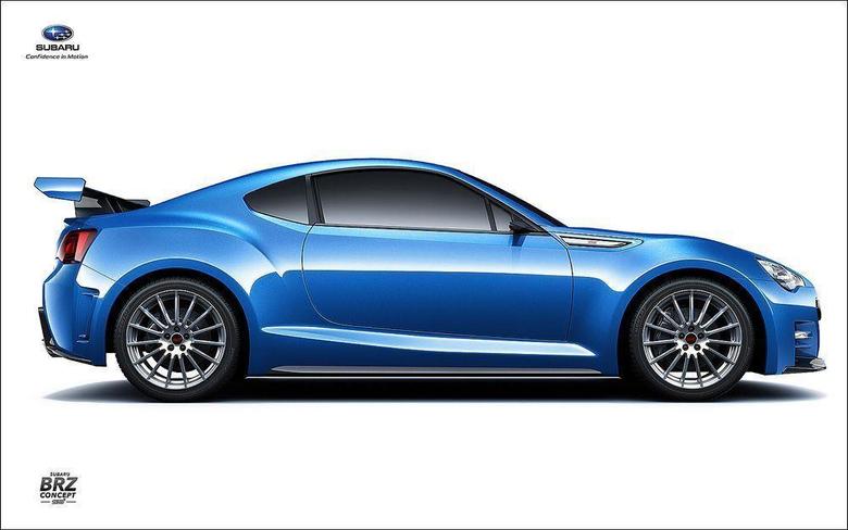 Subaru Brz Concept Wallpapers