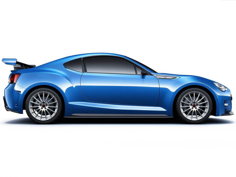 Subaru BRZ STI Concept side wallpapers