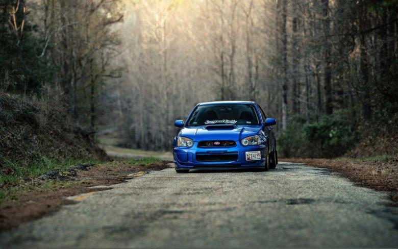 Subaru Impreza WRX STI Car Road HD Wallpapers