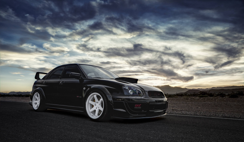 Wallpapers subaru impreza wrx sti subaru tuning car