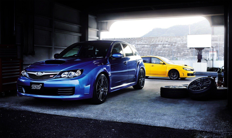Subaru Impreza Blue 10513 HD Wallpapers Pictures