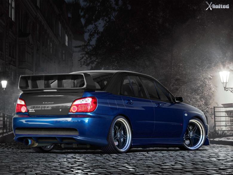 Subaru Impreza Sti Wallpapers By Dejoz Wide