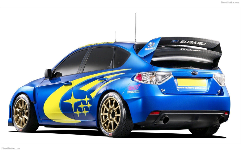 Subaru Impreza WRC first look Widescreen Exotic Car